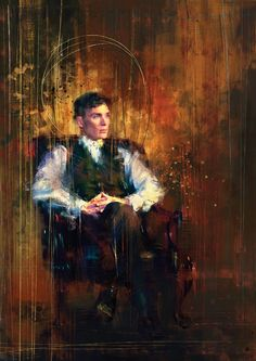 Thomas Shelby Canvas Print