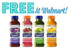 Naked Juice Coupons | FREE at Walmart! | http://www.passionforsavings.com/coupon/2014/07/naked-juice-coupons-free-walmart-2/