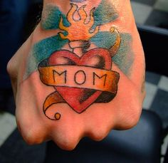 I want a mom tattoo