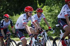 A smiling duo, John Degenkolb and Alberto Contador (Trek-Segafredo)