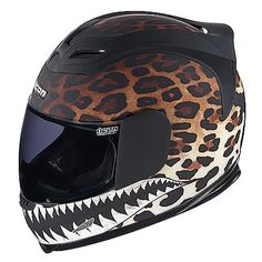 For all the biker babes, this helmet is pretty badass!