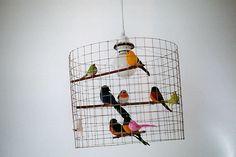 bird lamp.