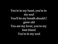 ▶ You're In My Heart Rod Stewart Lyrics - YouTube