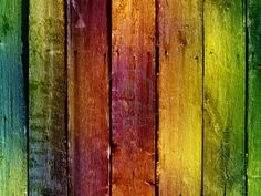 bright colorful vintage wooden wall Stock Photo - 7943717