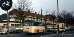 Amstelveenseweg, 1973. Met cafe anno 1890 op de achtergrond.