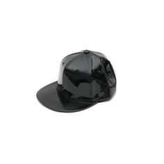 Today's Hot Pick :Enamel Leather Baseball Cap http://fashionstylep.com/P000BADN/ju021026/out Try a street hip look with this enamel leather baseball cap. Designed with a round brim, button top, stitched eyelets, flat and wide brim plus a convenient Velcro snap closure at the back. Brings out a sporty flair to your get-up.