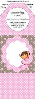Kit Festa Dora Bailarina Para Imprimir Grátis Dora The Explorer, Doraemon, Teddy Bear, Printables, Animals, Jena, Birthday Ideas, Ballet, Templates
