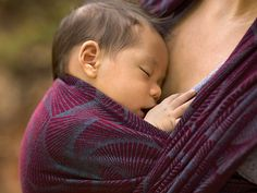 Oscha: Temari Fujin Vendange Baby Wrap Linen/cotton blend