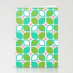 Retro Leaves Stationery Cards by Joanne Paynter - $12.00