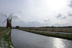 De Hornsey Windpump helpt de waterstand van lagergelegen gebieden regelen.