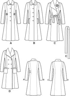 simplicity 4403 line drawings