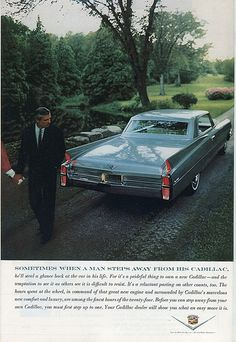 1963 Cadillac Ad - National Geographic February 1963