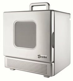 Iwavecube By Icubed International Tiny Microwave Oven It Takes Up 73 Cubic Feet Of