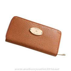 New Womens Mulberry Snake Print Purse Light Coffee Coupons Sale
