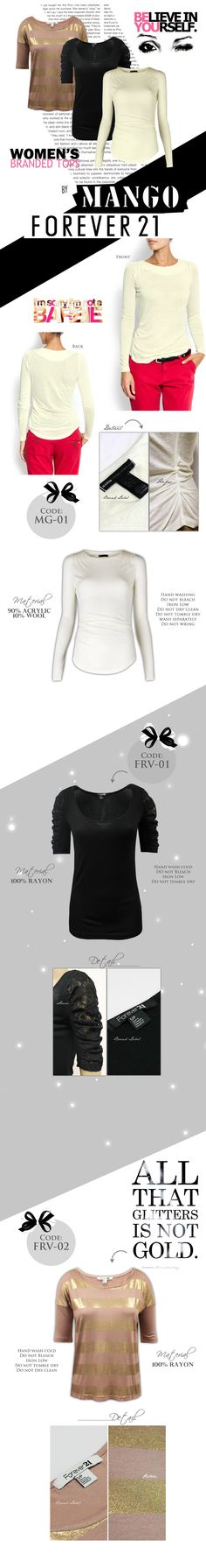 branded tops Clothes Women, Fashion Clothes, Fashion Outfits, Nice Outfits, My Design, Forever 21, Shopping, Tops, Style