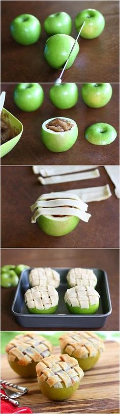 Apple Lattice Mini Pies by Hairstyle Tutorials