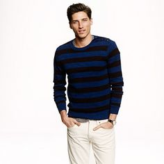 J.Crew - Stripe cotton sweater