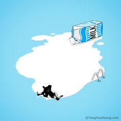 pool of milk