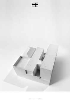Architecture Bureau WALL | model | gypsum | 2016 |  #WorldArchitectureLocalLine #ArchWall #ArchWallModels #Architecture #ArchitectsMoscow