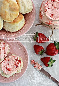 Homemade Strawberry Butter Recipe