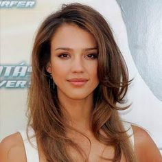 Jessica Alba Hair Look