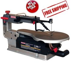 "Craftsman 16"" Variable Speed Scroll Saw Cut Wood Plastic Metals Bench Top Shop #Craftsman"