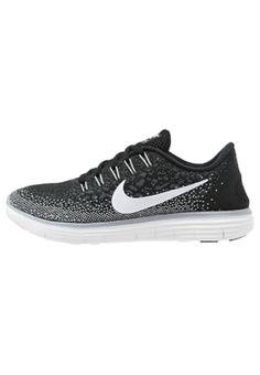 check out 67e6f 1498f FREE RN DISTANCE - Paljasjalkajuoksukengät - black white dark grey Running  Nike, Distance