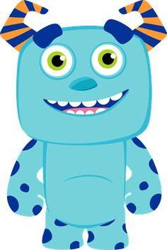 SGBlogosfera. María José Argüeso: Dibujos Disney Little Monster Party, Monster Inc Party, Monster Birthday Parties, Boy Birthday, Monsters Ink, Cartoon Monsters, Cute Monsters, Little Monsters, Doodle Monster