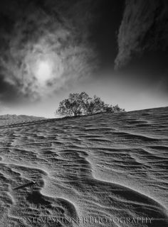 Textures of the Dunes - Death Valley