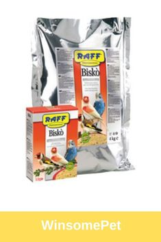 Raff Professional - Bisko for all seed eating birds. DRY EGG FOOD EGGS) FOR ALL SEED EATERS BIRDS This dry egg food offers an excellent quality/price ratio. Cooked or germinated seeds can be added to the basic mix during the rearing season. Conure, Bird Food, Egg Recipes, Seeds, Birds 2, Eat, Cooking, Kitchen, Bird Feeder