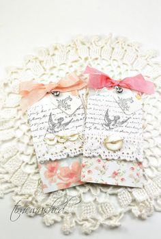 Gift Tags-Shabby Chic-Floral