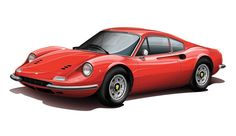 Ferrari Dino by Etienne Carignan