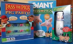 The Brick Castle: Pass The Pigs Family Game Bundle Christmas Present Giveaway