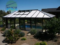 NC Swimming Pool Enclosures Retractable Pool Enclosures Glass MFR.- den nehm ich doch auch sofort!^^