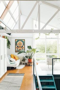 light, airy and colorful