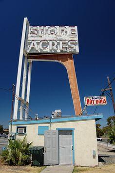 Neon Signs...   Joe's Hot Dogs @ Shore Acres