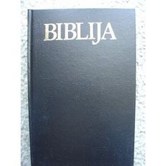 Biblija Stari I Novi Zavjet / Beautiful Croatian Bible - Just as pictured