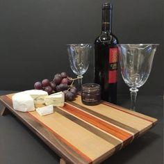 serving platter Wooden Serving Trays, Serving Board, Serving Platters, Magnetic Knife Holder, Charcuterie Platter, Cheese Snacks, New Homeowner, Safe Food, Sushi