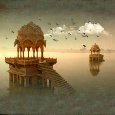 """The Golden City"", is a town in the Indian state of Rajasthan"
