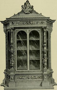World's Fair of 1876 : Cabinet by Egisto Gajani, illustrated in Earl Shinn, The masterpieces of the Centennial international exhibition of Ancient Greek Words, Exhibition Building, Architectural Antiques, The Masterpiece, World's Fair, French Artists, Art Museum, Statue Of Liberty, Philadelphia