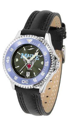 Maine Black Bears Womens Competitor Anochrome CB Watch