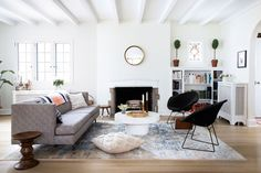Visit the stylish home of design blogger Kate Arends of Wit and Delight, and learn how she has styled her chic space in Minnesota. Domino magazine shares the home of design blogger and designer Kate Arends.
