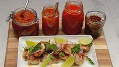 Grilled chicken with chilli sauces | MasterChef Australia