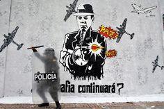 Il n'est pas rare de voir le président colombien Juan Manuel Santos