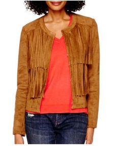 tall fringe jacket on sale too