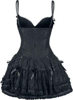 Mode Outfits, Dance Outfits, Fashion Outfits, Dark Fashion, Gothic Fashion, Ropa Punk Rock, Moda Aesthetic, Cute Dresses, Short Dresses