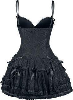 Vestido Gótico Lace Dress - Queen Of Darkness $84.99€ en #empspain mayor tienda…
