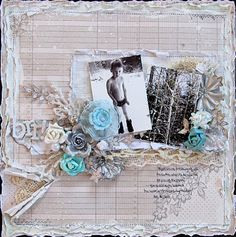 Created for the distressing challenge at C'est Magnifique.