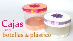 Manualidades: CAJAS con BOTELLAS de Plástico - Reciclaje - DIY Innova Ma...
