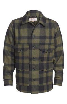 Filson 'Mackinaw Cruiser - Seattle Fit' Wool Jacket